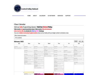 central-valley-med.enrollware.com screenshot