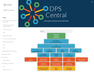 central.dpsnc.net screenshot