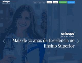 central.unisep.com.br screenshot