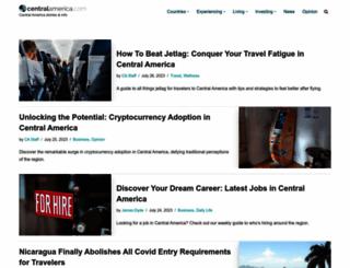 centralamerica.com screenshot