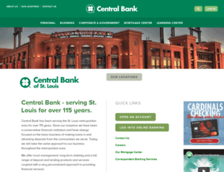 centralbankstl.net screenshot