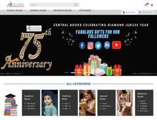 centralbooksonline.com screenshot
