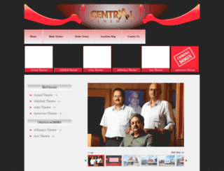 centralcinemas.in screenshot
