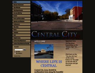 centralcityia.govoffice2.com screenshot