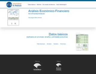 centraldebalancesdeandalucia.es screenshot
