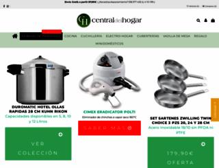 centraldelhogar.com screenshot