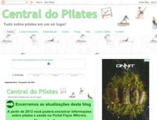 centraldopilates.blogspot.com screenshot