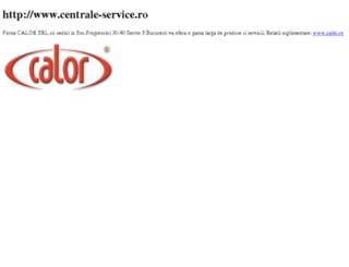 centrale-service.ro screenshot