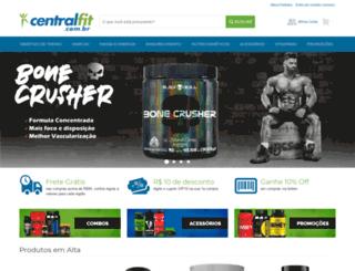 centralfit.com.br screenshot