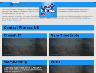 centralfitnessus.com screenshot