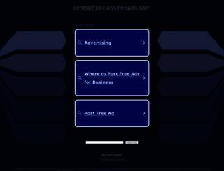 centralfreeclassifiedads.com screenshot