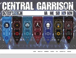 centralgarrison.com screenshot