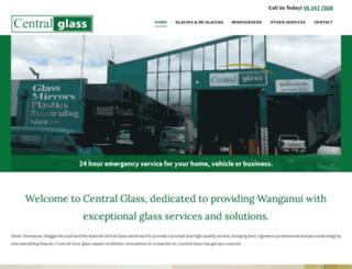 centralglass.co.nz screenshot