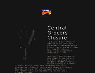 centralgrocers.com.au screenshot