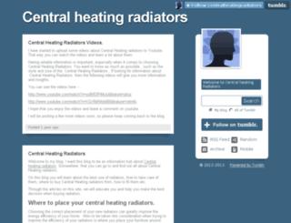 centralheatingradiators.tumblr.com screenshot
