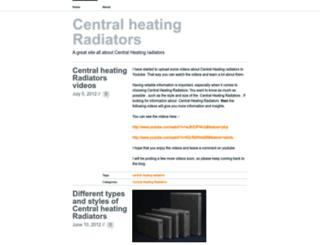 centralheatingradiators.wordpress.com screenshot