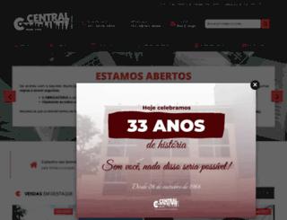 centralimoveis.net screenshot