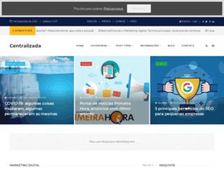 centralizada.com.br screenshot