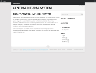centralneuralsystem.com screenshot