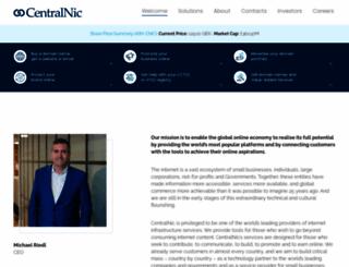 centralnic.com screenshot