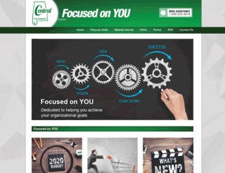 centralpaper-al.com screenshot