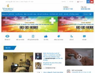 centralpark.vinmec.com screenshot
