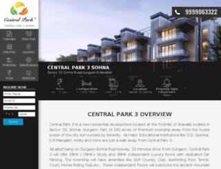 centralparkiii.com screenshot