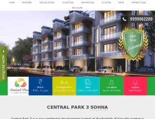 centralparkk3.in screenshot