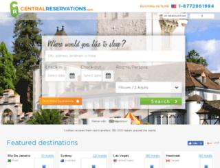 centralreservations.com screenshot