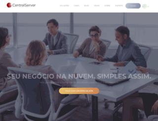 centralserver.com.br screenshot