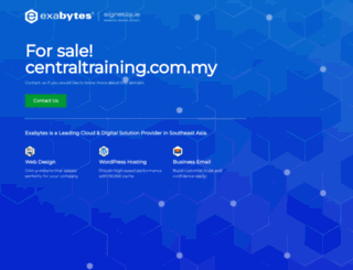 centraltraining.com.my screenshot