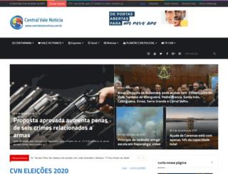 centralvalenoticia.com.br screenshot