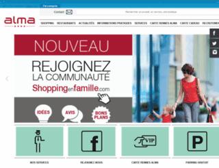 centre-alma.com screenshot