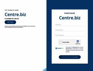 centre.biz screenshot