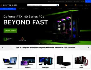 centrecom.com.au screenshot