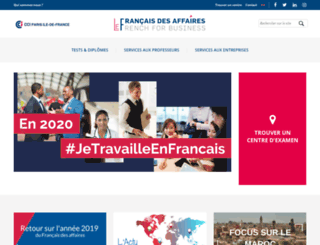 centredelanguefrancaise.paris screenshot