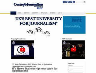 centreforjournalism.co.uk screenshot