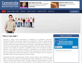centreindia.com screenshot