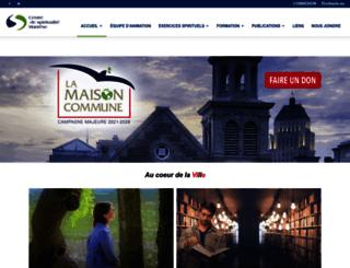 centremanrese.org screenshot