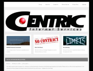 centric.net screenshot