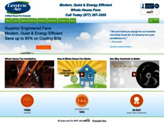 centricair.com screenshot