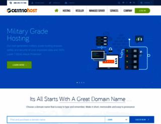 centriohost.com screenshot