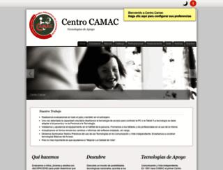 centrocamac.org screenshot