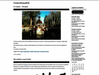 centrodemadrid.wordpress.com screenshot