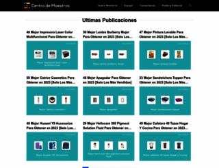 centrodemaestros.mx screenshot