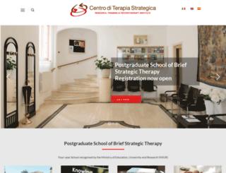 centroditerapiastrategica.org screenshot