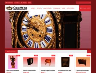 centromercatoantiquariato.it screenshot