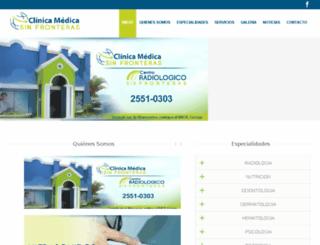 centroradiologicosinfronteras.com screenshot
