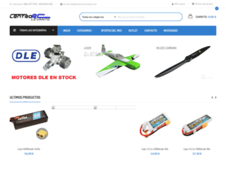 centrorclevante.net screenshot
