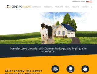 centrosolar.com screenshot